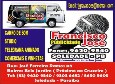 FRANCISCO JOSÉ GRAVAÇÕES