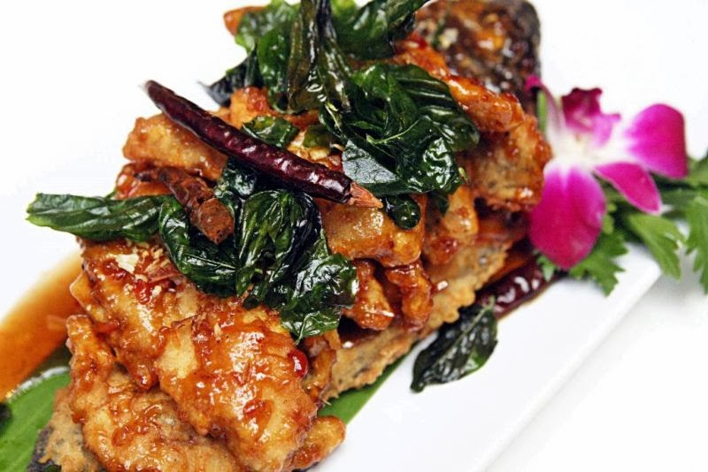 crispy tilapia with tamarind puree silk road thai cuisine by chef cecille chang
