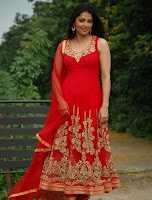 Bhumika, Chawla, Latest, Hot, Photos, In, Red, Dress