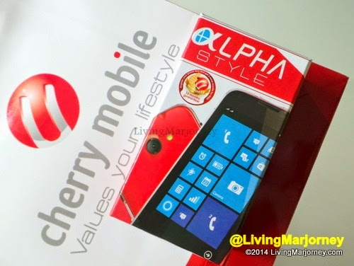 Unboxing Cherry Mobile Alpha Style
