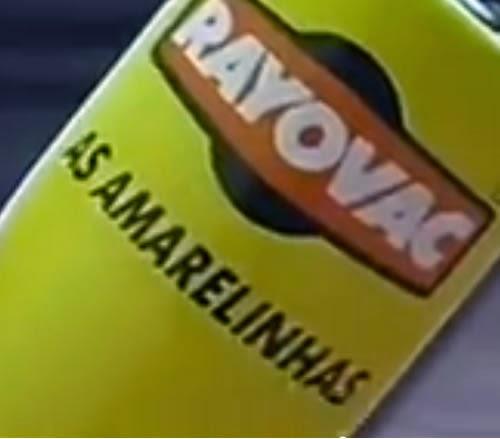 Propaganda das Pilhas Rayovac (As Amarelinhas) veiculada em 1990.