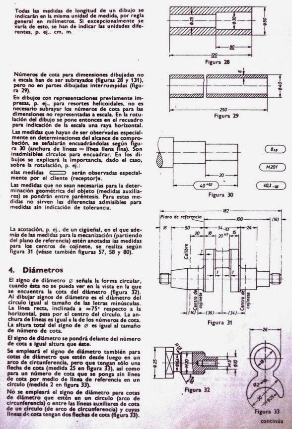 Dibujo Tcnico  y algo ms ACOTACIN EN DIBUJOS  norma DIN 406