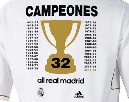camiseta conmemorativa Real Madrid campeones de Liga