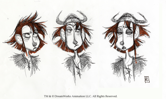 Character Design How To Train Your Dragon 2 : Devin crane hiccup designs