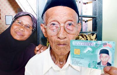 Lelaki Paling Tua Di Malaysia