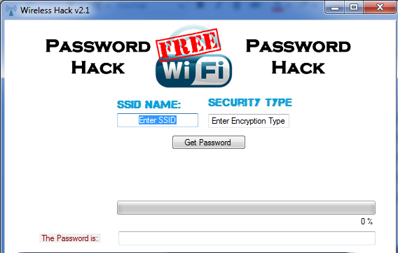 Free DownloD Wifi Password Hack 2013