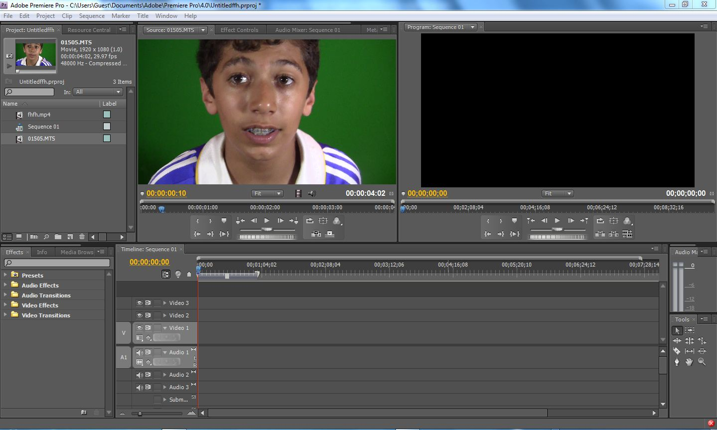 how to change color in premiere pro