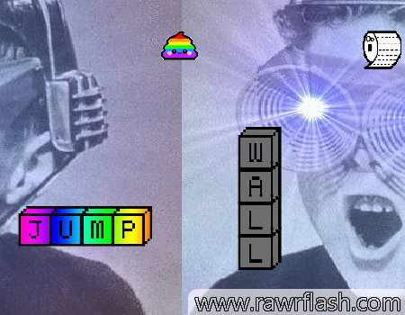 Jogos de plataforma: The Rainbow Poop game