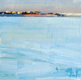 Distant Coastline by Liza Hirst