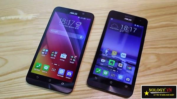 So sánh Asus Zenfone 2 và Asus Zenfone 5.