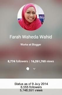 Google Plus - G+ Farah Waheda