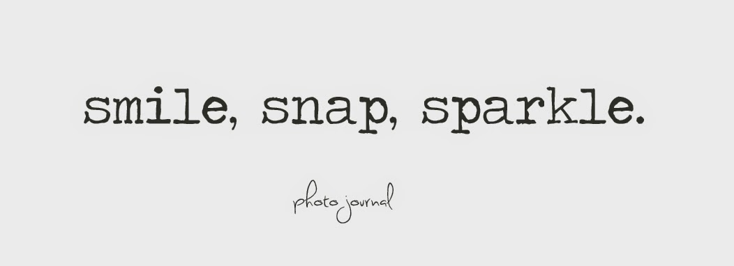 Smile, snap, sparkle.