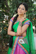 Actress Anjali Rao in Half Saree-thumbnail-6