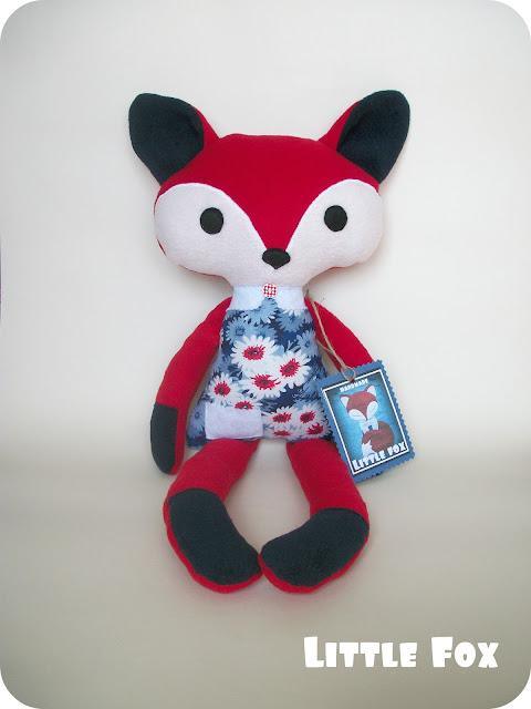 игрушка лисичка
