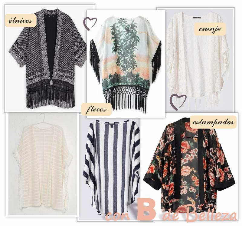 Kimonos y ponchos