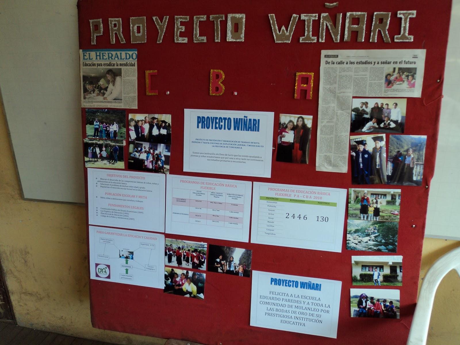 Trabajo infantil ind gena innovaciones pedag gicas for El periodico mural