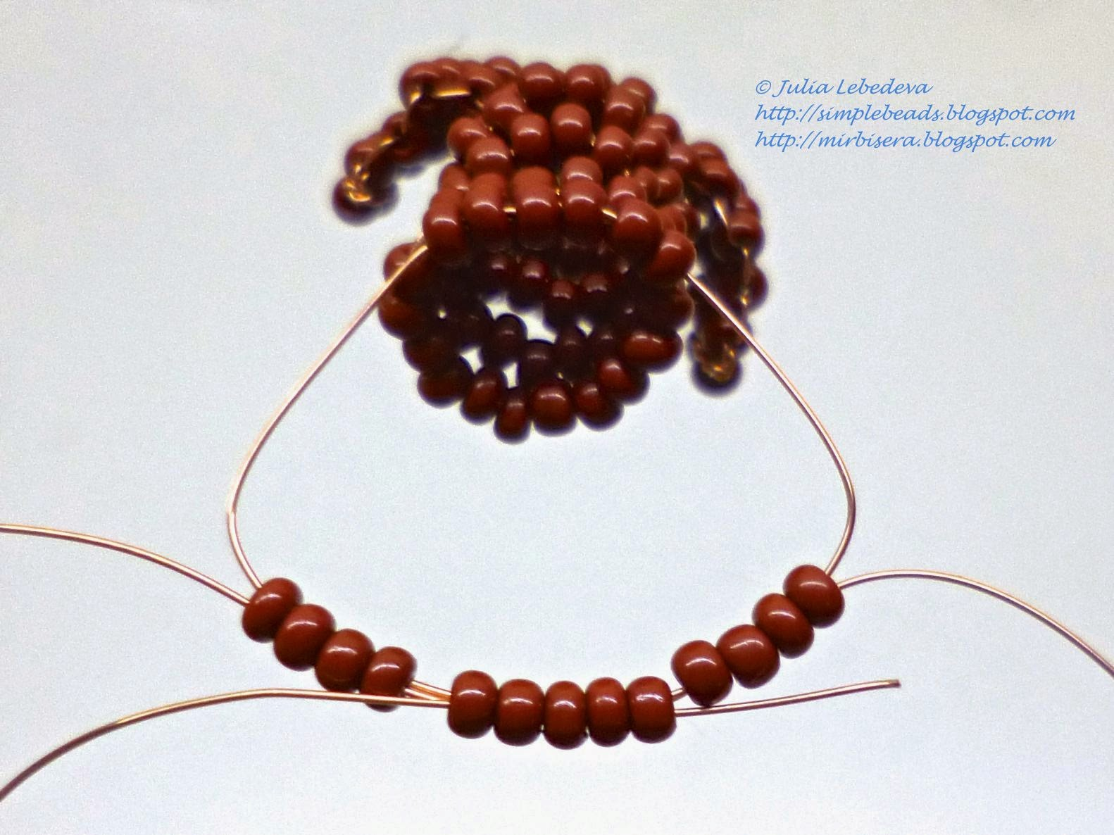 плетение фигурок из бисера такса схема