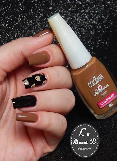 moschino nail art