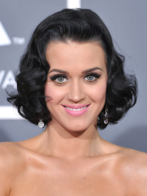 katy perry curly hair