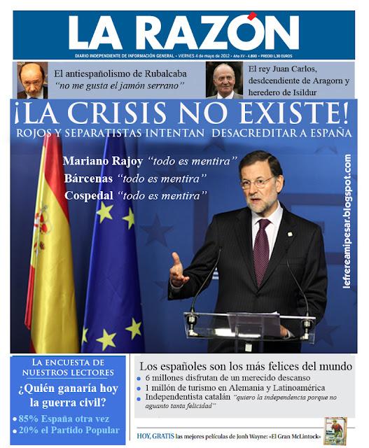 crisis, mentira, Rajoy