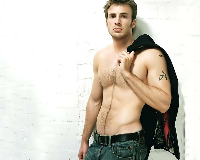 American Actor Chris Evans Hot Photo Wallpapers FasHion