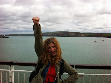 Leaving Fishguard, Wales