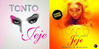 "Nollywood Actress ""Poko"" Tonto Dikeh to Drop New Song March 1st www.uwillcgossip.com"