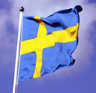 Gambar Bendera Negara Swedia 3