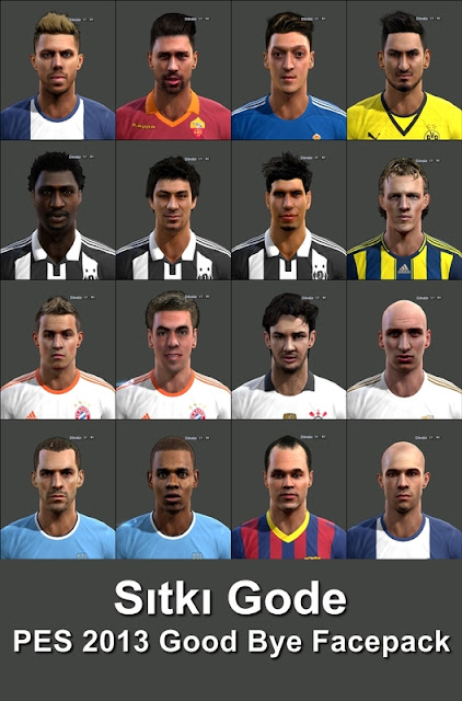 [PES 2013] Good Bye Facepack by Sitki Gode