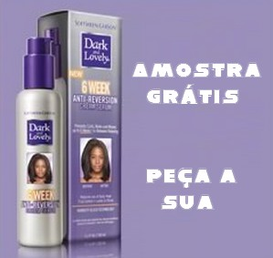 Amostra Gratis Relaxante de cabelos Dark & Lovely
