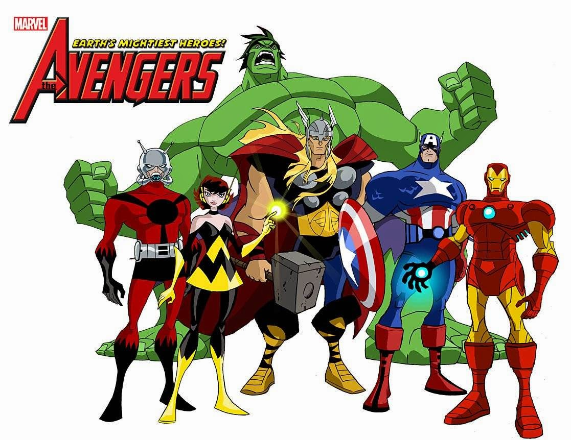 the avengers earths mightiest heroes