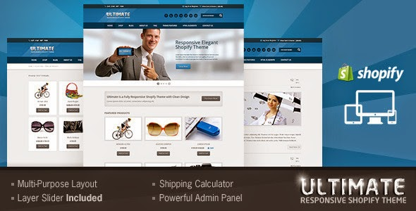 responsive store template