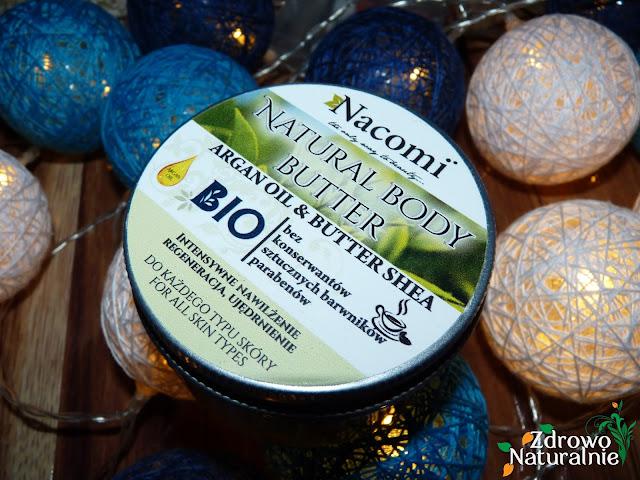 NACOMI - Balsam do ciała z masłem shea o zapachu zielonej herbaty