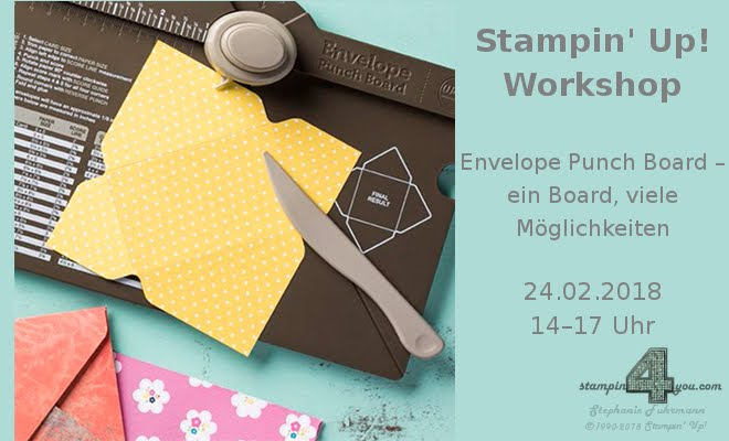 Stampin' Up! Workshop