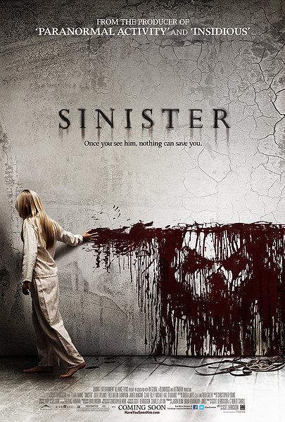 sinister, horror movie