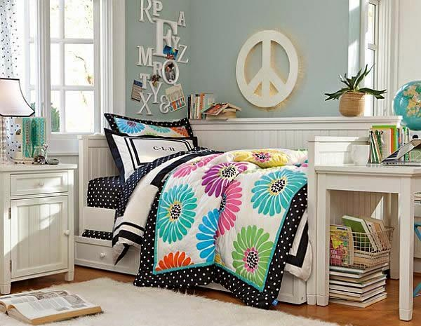 Creatively Inspiring Design Ideas for Teenage Girls Rooms