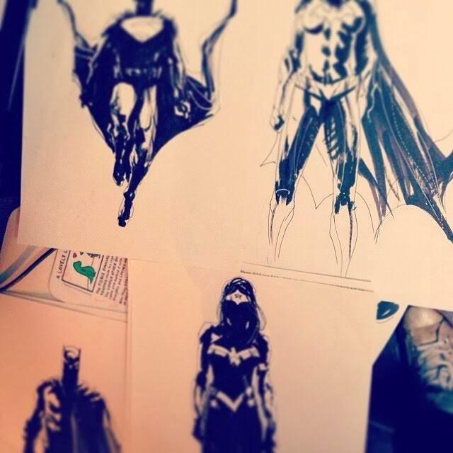 Batman vs Superman: Posible Concept art