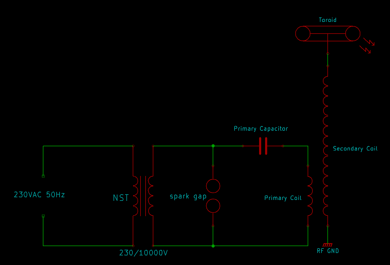 There are some different variations of the schematic but we will follow  this simple one: