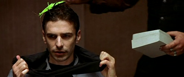 Intacto film 2001 juan carlos fresnadillo blindfold bug scene