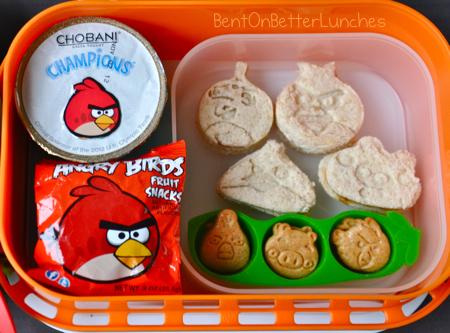 Angry Birds yubo bento