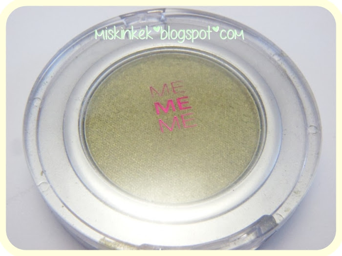 mememe eyeshadow swatch