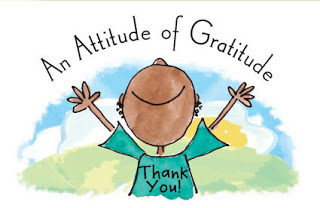 an attitude of gratitude thank you cartoon