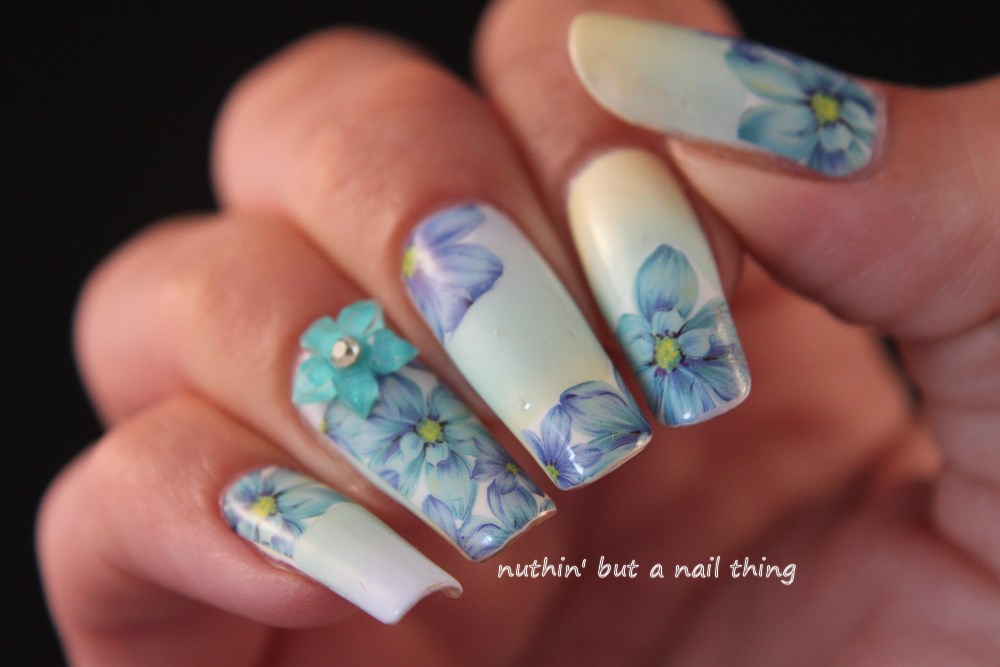 Born Pretty Store - Flower Decals