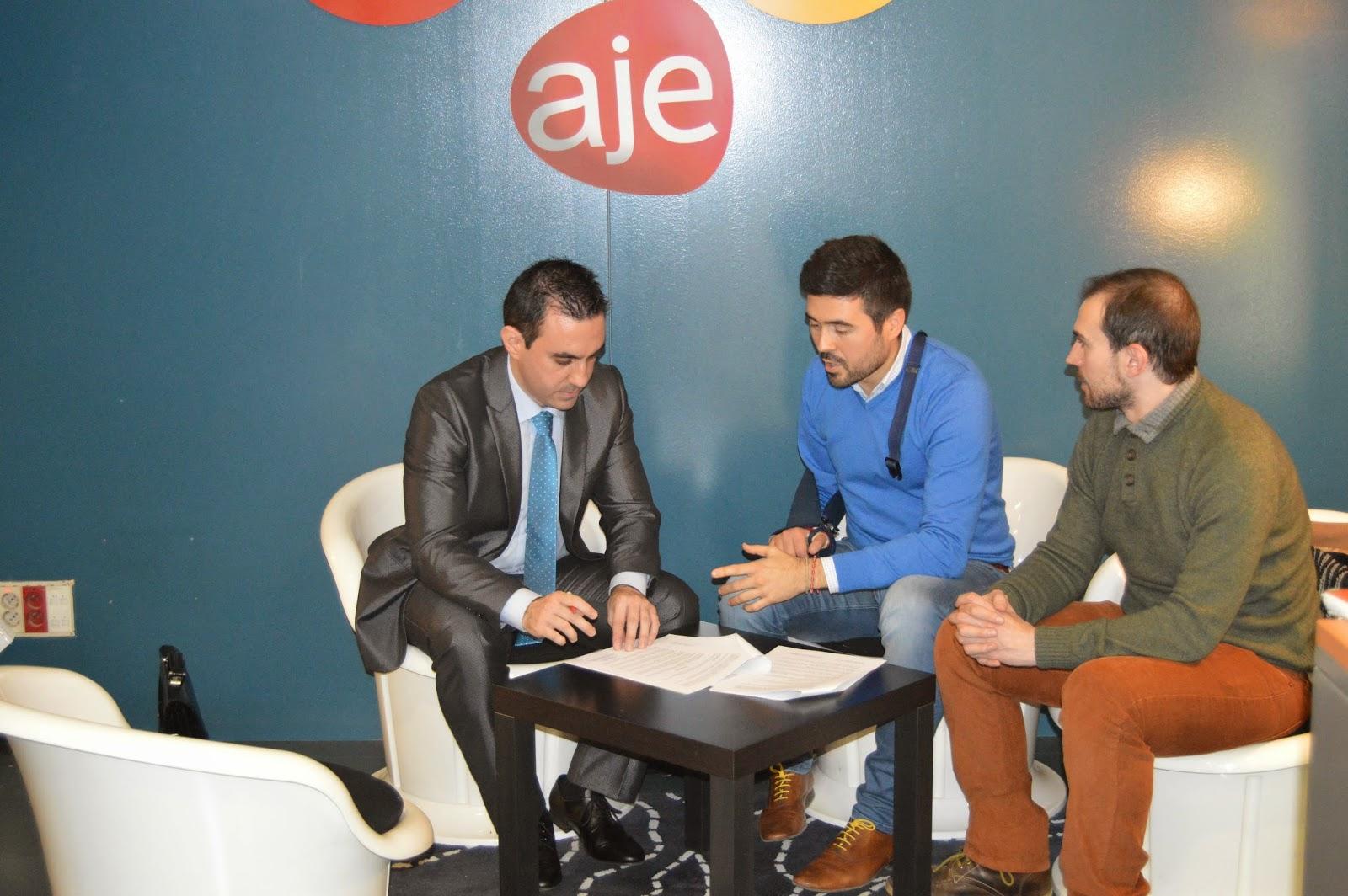 Convenio Profesionalesmarketing y AJE Albacete