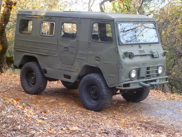 5k: Happy Thorsgiving: 1963 Volvo L3314 Laplander Military 4x4