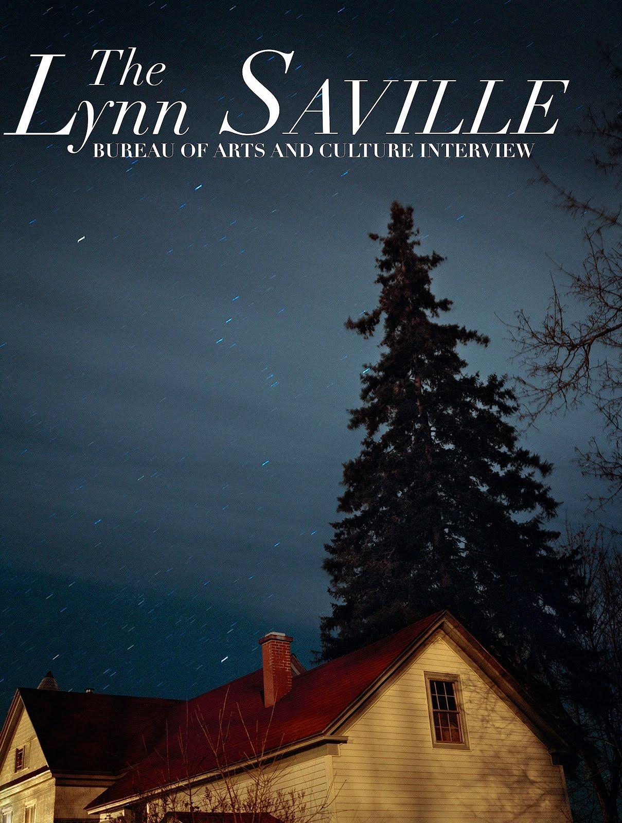 LYNN SAVILLE INTERVIEW