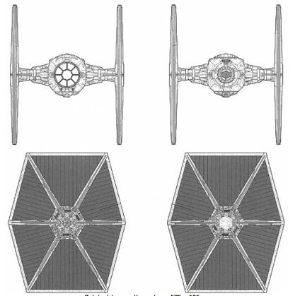 3d modelling animation software tie fighter blueprints