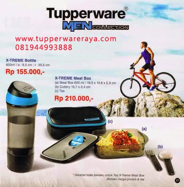 Katalog Tupperware Promo Mei 2014 xtreme bottle meal box