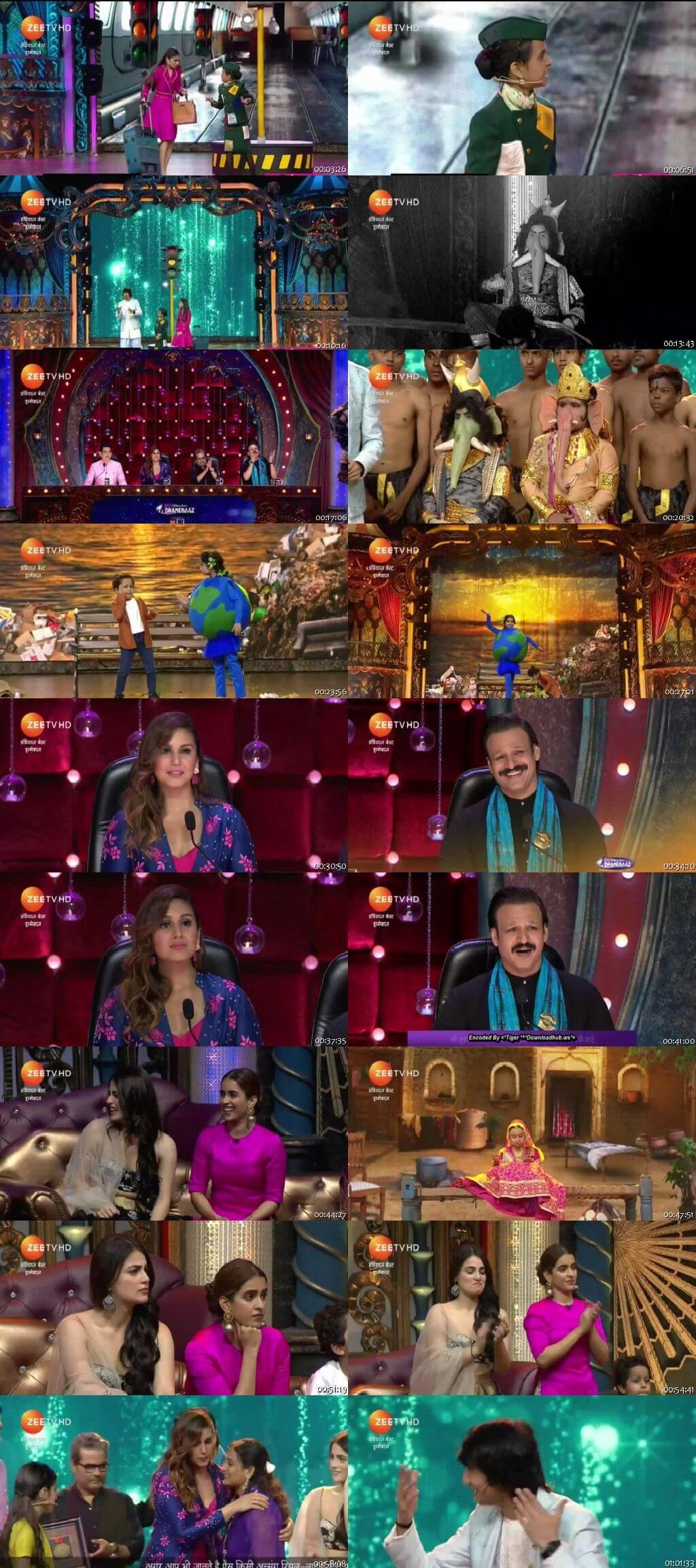 Screen Shot Of india's best dramebaaz 16th September 2018 Episode 24 300MB Watch Online