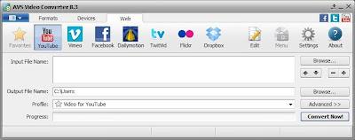ดาวน์โหลดโปรแกรมฟรี  AVS Video Converter